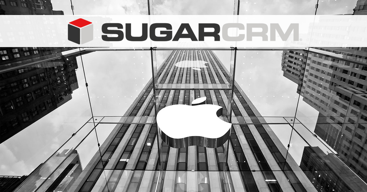 apple klientem sugarcrm